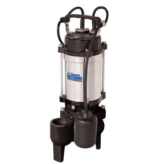Sewage Pump With Tether Switch