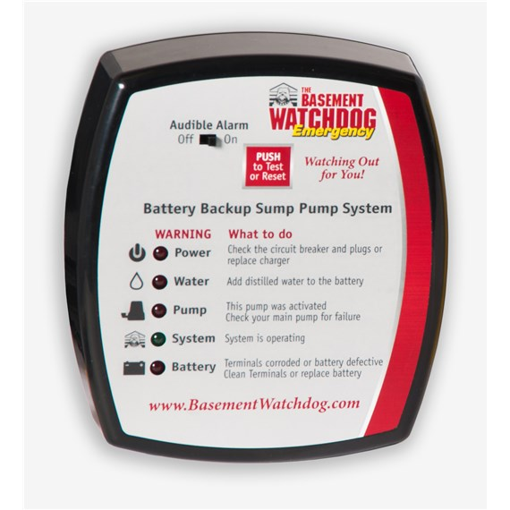 basement watchdog emergency battery backup sump pump manual