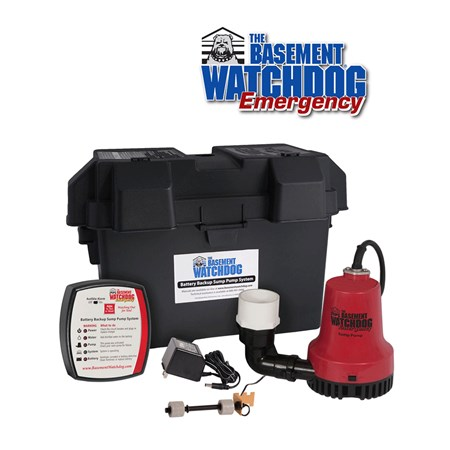 Basement Watchdog BWE Backup Sump Pump