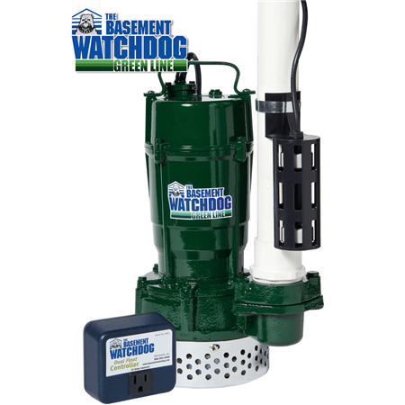 BWT Series sump pump with dual float switch