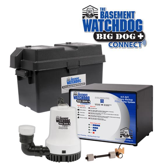 Big Dog CONNECT backup sump pump