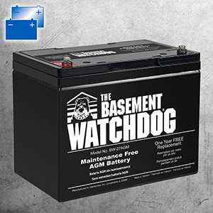 Matching Batteries for Basement Watchdog Big Dog Connect